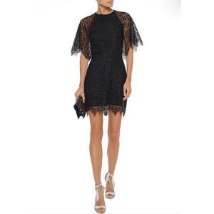 MAJE Rocandi lace mini dress